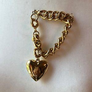 JCrew Heart bracelet